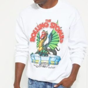 ROLLING STONES Dragon stadium white sweatshirt